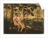 Adam and Eve by German School