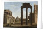 Campo Vaccino in Rome, c.1650 by Italian School