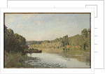 Landscape from Bougival, 1873 by Alfred Sisley