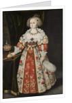 Queen Kristina as a Child, c.1635-40 by Jacob Heinrich Elbfas
