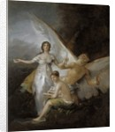 Truth, Time and History, 1804-08 by Francisco Jose de Goya y Lucientes