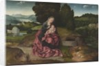 Virgin and Child Resting during the Flight into Egypt by Joachim Patenier or Patinir