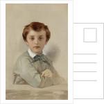 Portrait of Philippe-Grégoire Delaroche, the Artist's Younger Son, 1851 by Hippolyte Delaroche