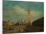 The Piazza San Marco in Venice by Francesco Guardi