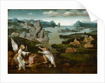 Landscape with Tobias and the Angel by Joachim Patenier or Patinir