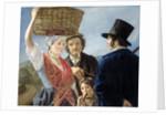 Market Gossip, 1827 by Jean Henri de Coene