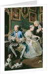Marriage a la Mode: I - The Marriage Settlement, c.1743 by William Hogarth