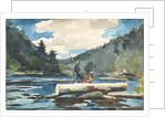 Hudson River - Logging, 1892 by Winslow Homer