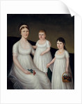 Grace Allison McCurdy and her Daughters, Mary Jane and Letitia Grace, c.1806 by Joshua Johnson