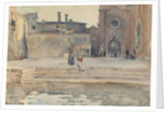 Campo dei Frari, Venice, 1880-82 by John Singer Sargent