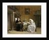 Sunday Morning, 1865-68 by Hendrik Jacobus Scholten