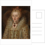 Portrait of Elizabeth I, Queen of England, 1550-99 by Anonymous Anonymous