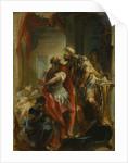 Saint Sampson with the Emperor Justinian, c.1750 by Johann Wolfgang Baumgartner