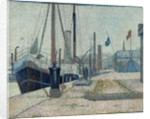 The 'Maria' at Honfleur, 1886 by Georges Pierre Seurat