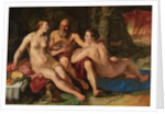 Lot and his Daughters, 1616 by Hendrik Goltzius