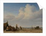 Beach View, 1663-65 by Adriaen van de Velde