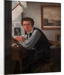 Copperplate Engraver Carl Edward Sonne, c.1826 by Ditlev Conrad Blunck
