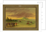 La Salle Meets a War Party of Cenis Indians on a Texas Prairie, April 25th 1686, 1847-48 by George Catlin