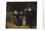 Portrait of a Family, 1661 by Pieter Codde