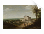 Church Building in Brazil, 1675-80 by Frans Jansz Post