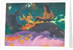 Fatata te Miti (By the Sea) by Paul Gauguin