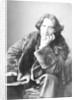 Oscar Wilde in his favourite coat by Napoleon Sarony