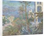 Villas at Bordighera by Claude Monet