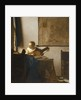 Woman with a Lute by Jan Vermeer