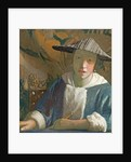 Young Girl with a Flute by Jan Vermeer