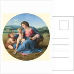 The Alba Madonna by Raphael