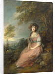 Mrs. Richard Brinsley Sheridan by Thomas Gainsborough