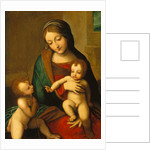 Madonna and Child with the Infant Saint John by Correggio