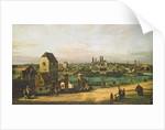 View of Munich by Bernardo Bellotto