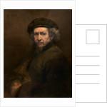 Self-Portrait by Rembrandt Harmensz. van Rijn