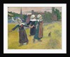 Breton Girls Dancing, Pont-Aven by Paul Gauguin