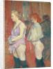 Rue des Moulins by Henri de Toulouse-Lautrec