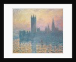 The Houses of Parliament, Sunset by Claude Monet