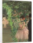 Dancers Backstage by Edgar Degas