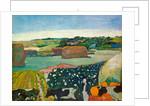 Haystacks in Brittany by Paul Gauguin