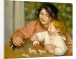 Child with Toys, Gabrielle and the Artist's son, Jean by Pierre Auguste Renoir