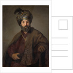 Man in Oriental Costume by Rembrandt Harmensz. van Rijn