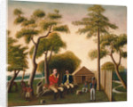 Marion Feasting the British Officer on Sweet Potatoes by George Washington Mark