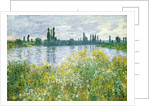 Banks of the Seine, Vetheuil by Claude Monet