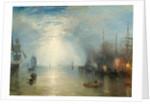 Keelmen Heaving in Coals by Moonlight by Joseph Mallord William Turner