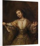 Lucretia by Rembrandt Harmensz. van Rijn