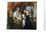 Deborah Kip, Wife of Sir Balthasar Gerbier, and Her Children by Peter Paul Rubens