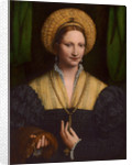 Portrait of a lady by Bernardino Luini