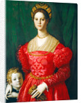 A Young Woman and Her Little Boy by Agnolo Bronzino