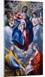 Madonna and Child with Saint Martina and Saint Agnes by El Greco