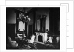 White House interior, Old Green Room, President's Study by American Photographer